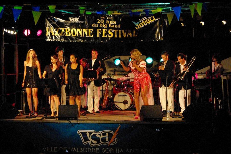 Toni Green & CIV Big Band 2012