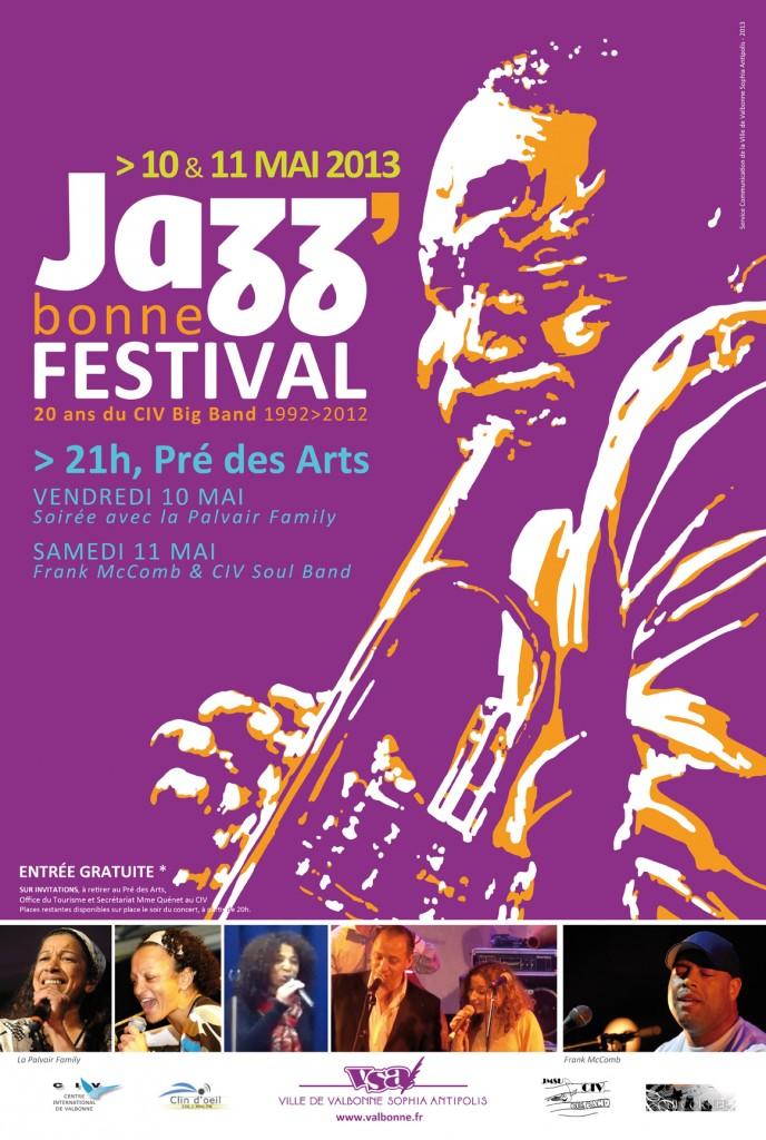 Affiche Jazzbonne 2013